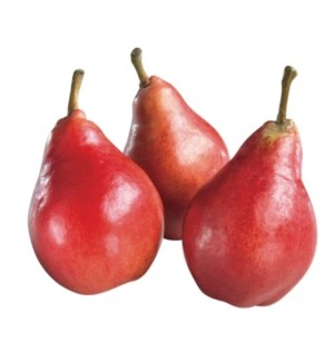 RED PEARS (PACK OF 3 PIECES)