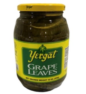 YERGAT GRAPE LEAVES 16OZ  IMPORT
