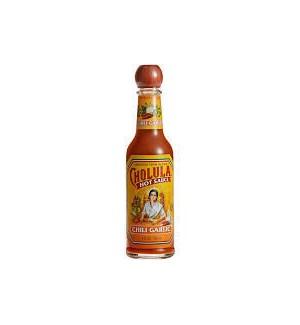 CHOLULA HOT SAUCE CHILI GARLIC 5OZ