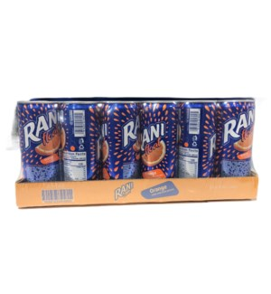 RANI ORANGE JUICE CAN 240 ML 24 CT