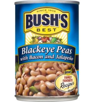 BUSH'S BLACKEYE PEAS 15.8 OZ