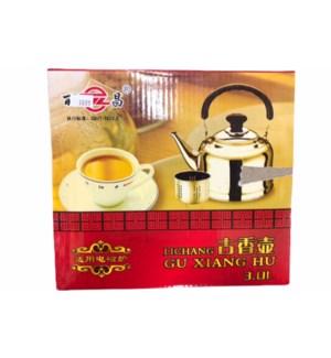 TEA POT STAINLESS 3L 1/CASE