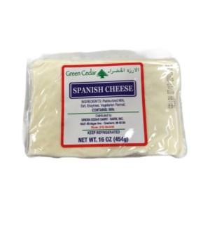 GREEN CEDAR SPANISH CHEESE 16OZ (EACH)