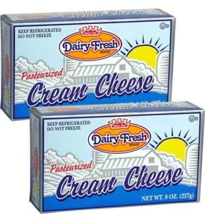 DAIRY FRESH CREAM CHEESE 8 OZ