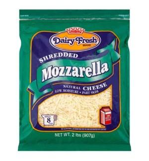 DAIRY FRESH SHREDDED MOZZARELLA 2 LBS