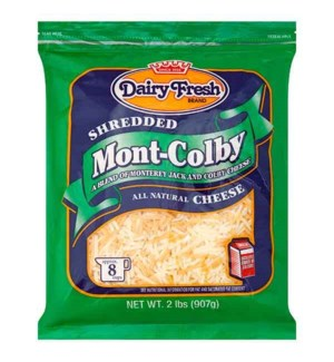 DAIRY FRESH SHRD MONT COLBY CHEESE 2 LB