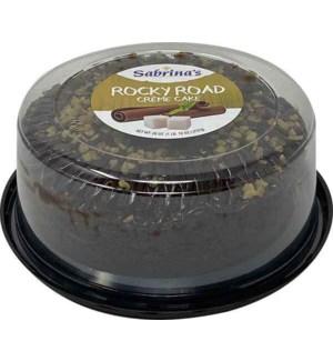 SABRINAS CAKE BUNDT ROCKY ROAD CREME 26 OZ