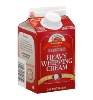 C.F BURGER HEAVY WHIPPING CREAM