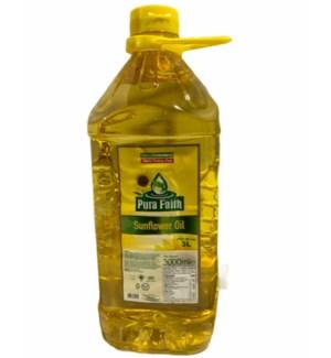 PURA FAITH SUNFLOWER OIL 3L