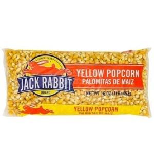 JACK RABBIT YELLOW POPCORN 1LB