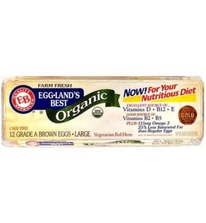 EGGLANDS BEST ORGANIC BROWN EGGS