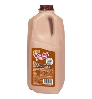 PRAIRIE FARMS CHOCOLATE MILK 1/2 GAL