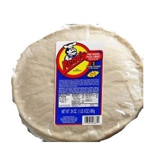 RENOS PIZZA CRUST 3 PACK 24 OZ