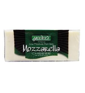 YODERS MOZZARELLA CHEESE BAR 8 OZ