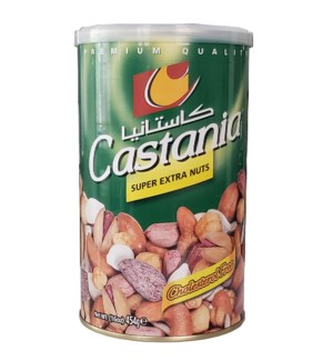 CASTANIA SUPER MIXED NUTS 454G GREEN CAN