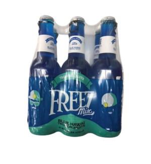 FREEZ BLUE HAWAII 6CT