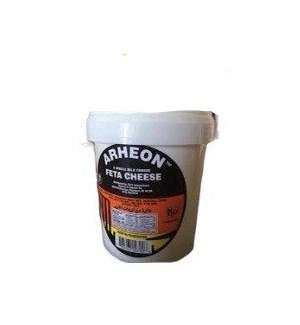ARHEON GREEK STYLE FETA CHEESE 4LB PAIL