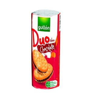 GULLON DUETO CHOCOLATE SANDWICH COOKIES 250G