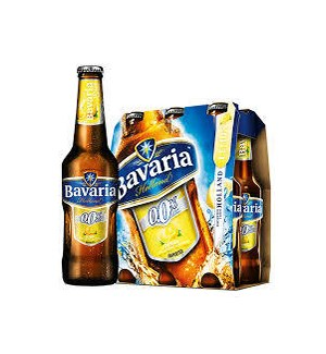 BAVARIA LEMON MALT NON-ALCOHOLIC 6PK