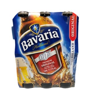 BAVARIA REG. MALT NON-ALCOHOLIC DRINK 11.2OZ 6 PACK