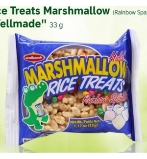 WELLMADE MARSHMALLOW RICE TREATS RAINBOW 14.04 OZ