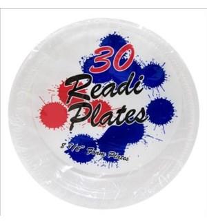 READI FOAM PLATES 30CT