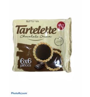 JOUY&CO TARTELETTE CHOCOLATE CREAM BISCUIT 44G 6PCS 24/CASE