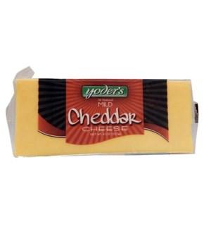 YODERS CHEESE BAR MILD CHEDDAR 8 OZ