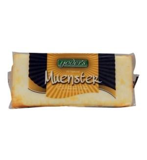 YODERS MUENSTER BAR CHEESE 8 OZ
