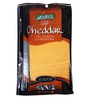 YODER'S SHINGLE SL SHARP CHED CHEESE 6 OZ