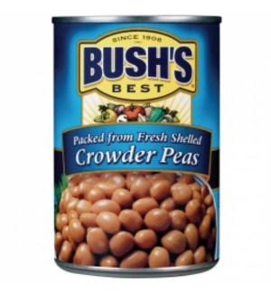 BUSH'S CROWDER PEAS (WIC) 15 OZ