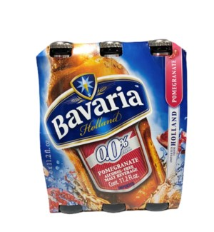 BAVARIA POMEGRANATE MALT BEVERAGE (6*11.2 oz)