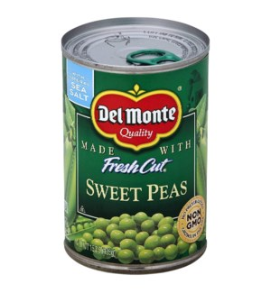 DEL MONTE VEGETABLES SWEET PEAS 15 OZ