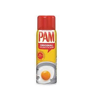 PAM ORIG SPRAY (RED CAP) 6 OZ