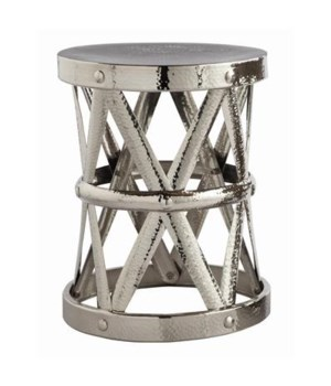 Costello Polished Nickel Stool