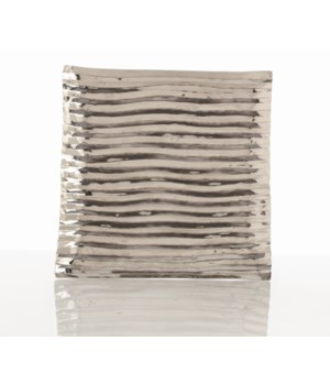 Triston Small Square Polished Nickel Tray
