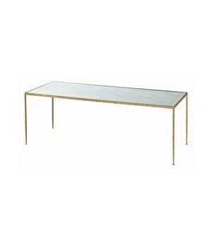 Worthington Hammered Iron/Mirror Coffee Table