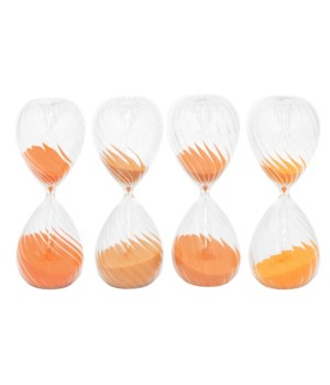 Glass Sand Timer, Assorted, 45 Min