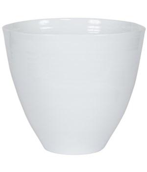 128 Vase, White