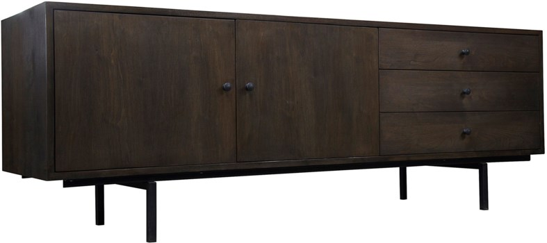 Callahan Cabinet, Walnut, Light Shellac