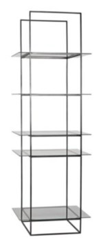 Sky Shelf, Metal with Glass