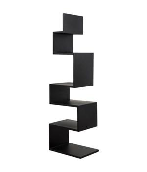 Laszlo Bookcase, Black Metal