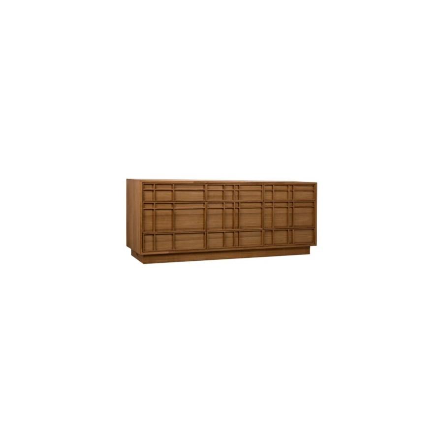 SL04 Sideboard, Gold Teak