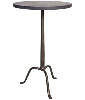 Cosmopolitan Side Table w Stone