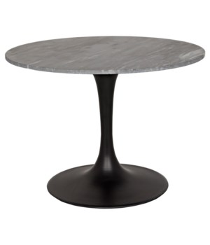 Laredo Bistro Table, Black Stone Top