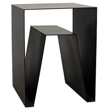 Quintin Side Table, Metal
