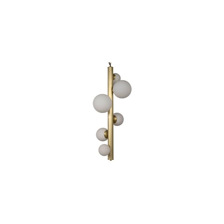 Orellana Chandelier, Antique Brass