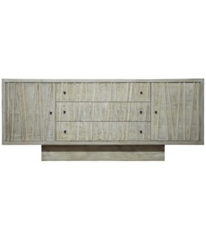Ranunculus Sideboard, Grey Wash