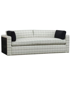 Victoria Sofa, Steel Back, Zulu Safari, Gr E