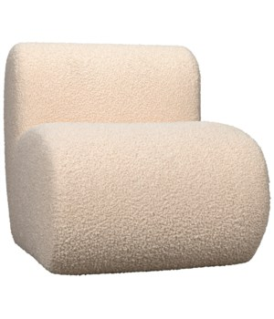 Marshmallow Chair, Poodle Cream, GR B